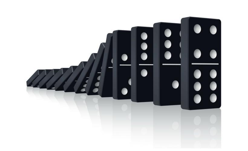 La màgia del dòmino: Nou article a l'Indicador